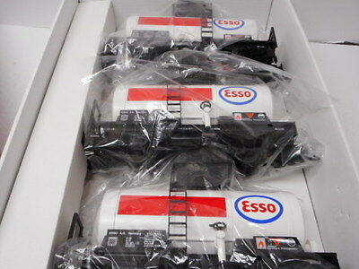 Lgb 49403 Set Of 3 Esso Tank Cars With Metal Wheels G Scale