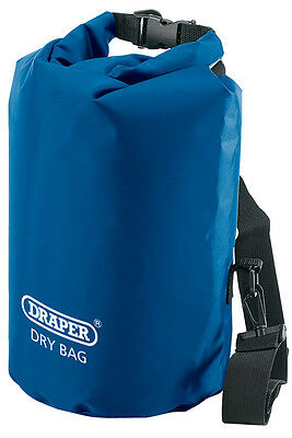 Genuine DRAPER 10L Dry Bag - Water-resistant polyester/PVC - Watertight | 38351