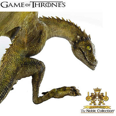 Noble Collection : Game of Thrones Rhaegal Baby Dragon - (New)