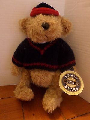 Brass Button Bear Tully The Bear Of Joy Handcrafted Jointed Pickford W/tags