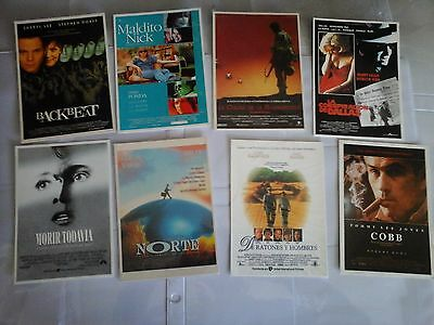 CINEMA / Lot de 15  cartes postales MERCURI  , affiches de films
