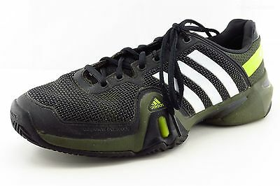 adidas adipower Athletic Sneakers Black Green Synthetic Men Shoes Size 8 Medium