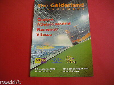 1998 Gelderland Tournament Chelsea/ Atletico Madrid/ Vitesse Flamengo
