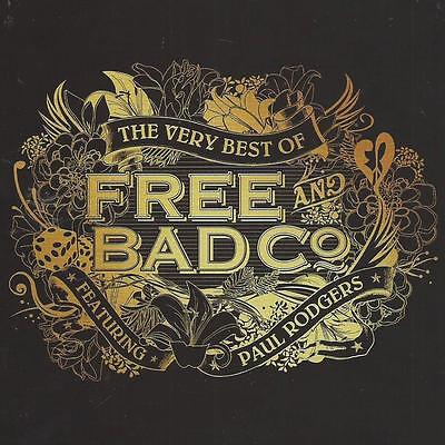 The Very Best of FREE & BAD COMPANY   15trk cd
