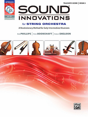 Sound Innovations Book 2 - String Method Book/cd/dvd Conductor Score 37227