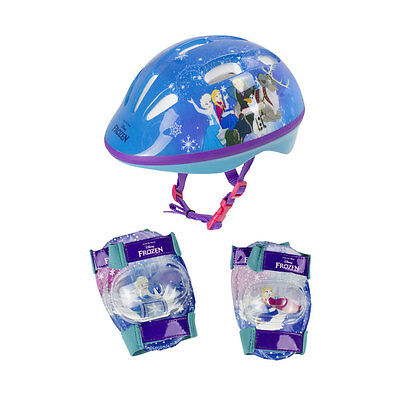 DISNEY Frozen Small Helmet Knee Pads & Extra Small Elbow Pads Multi-colour