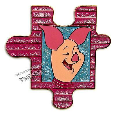 PIGLET WINNIE the POOH & FRIENDS PUZZLE COLLECTION JDS DISNEY PIN