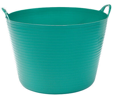 Genuine DRAPER 60L Multi Purpose Flexible Bucket - Green | 22307