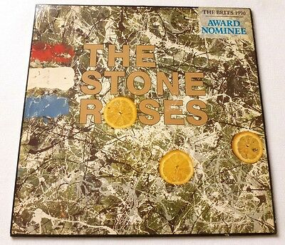 The Stone Roses - The Stone Roses  UK VINYL LP  A2/B2 MATRIX 2nd Pressing