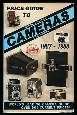 VINTAGE CAMERA BOOK - McKeown Price Guide to Antique & Classic Cameras 672 PAGES