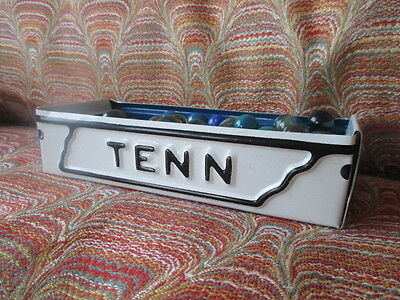 Tennessee License Plate Box - Free Shipping - Rustic Storage Box / Planter