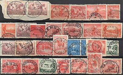 AUSTRALIA  EARLY COMMEMS SELECTED for CANCELS