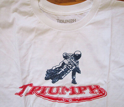 Triumph Motorcycle Xl Factory Accessory T-Shirt Jersey Shirt Racing Bonneville