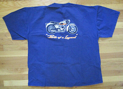 Triumph Motorcycle Xxl Accessory T-Shirt Jersey Shirt 1959 T120 Bonneville 50Th