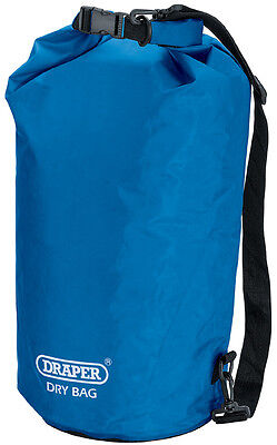 Genuine DRAPER 30L Dry Bag  - Water-resistant polyester/PVC - Watertight | 77572