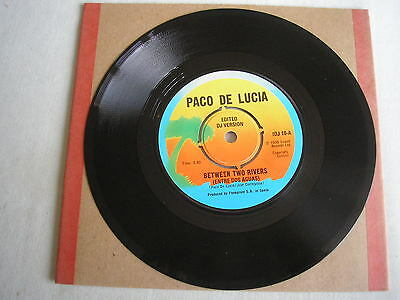 "PACO DE LUCIA Between Two Rivers UK 7"" single 1976 ex+ promo"