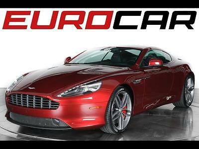 2015 Aston Martin DB9 Base Coupe 2-Door 2015 Aston Martin DB9 Coupe - Stunning Special Paint Color in Diavolo Red