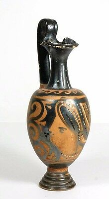 Apulian Greek high handled oinochoe, Magnia Graecia