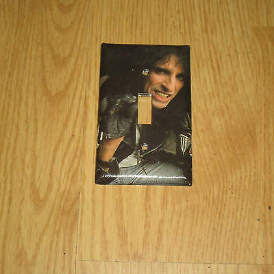 ALICE COOPER ROCK N ROLL LEGEND Light Switch Cover Plate