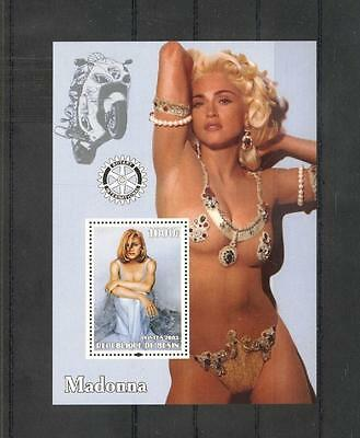 (940430) Motorcycle, Madonna, Popstars, Private / local issue