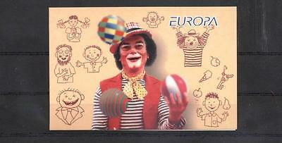 (940456) Motorcycle, Clown, Booklet, Russia
