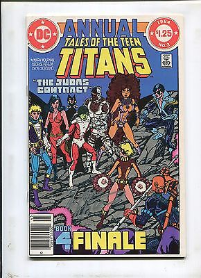 Teen Titans Annual #3 (9.2) Signed By Marv Wolfman!