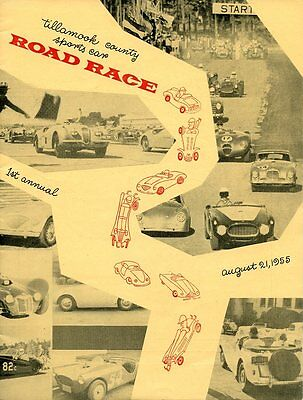 1955 George Keck Cooper Mk IX Wins Tillamook, OR Sports Car Race Program