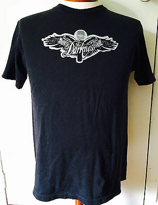 Vtg THE DARKNESS Permission To Land Hard Rock Glam Metal Punk Tour Shirt M