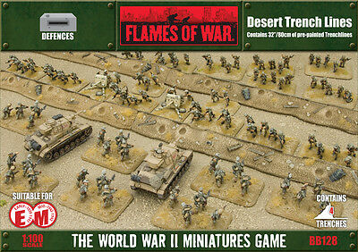 Flames of War: Desert Trench Lines BB128