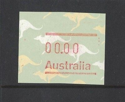 1985 Australia Frama Kangaroo 33 cents design variety no value muh