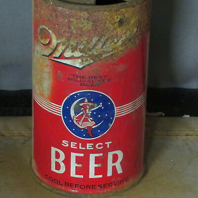 Millers  Select Beer    Solid O.i.   Irtp  Flat Top