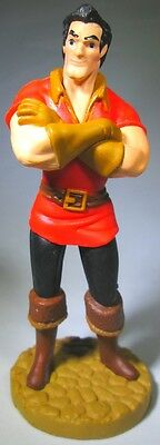 *GASTON Disney BEAUTY AND THE BEAST Movie PVC TOY Figure CAKE TOPPER FIGURINE!*