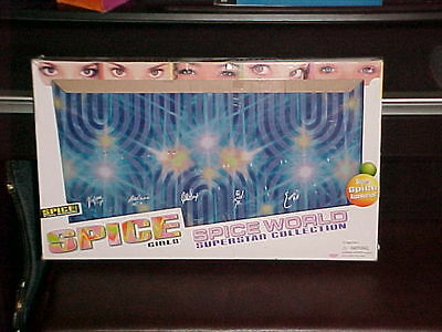 Spice Girls Empty Box For The Set Of Action Figure Dolls 1998