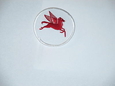 Mobil Pegasus Horse Patch  2 1/2 x 2 1/2 inches