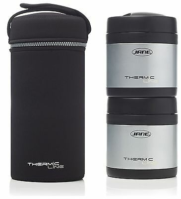 Jane Stainless Steel Thermos Food Flask 2x 500cc -From the Argos Shop on ebay