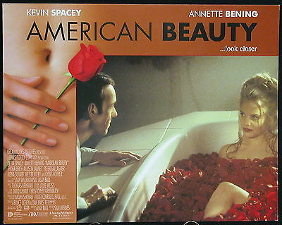 American Beauty (1999) US Lobby Card Set KEVIN SPACEY ANNETTE BENNING