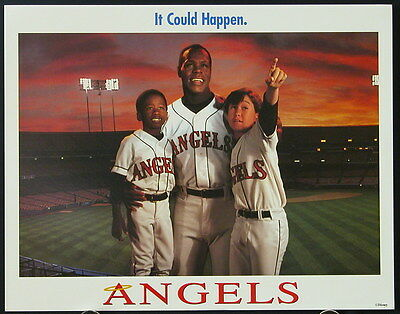 Angels In The Outfield (1994) International Lobby Card Set DANNY GLOVER