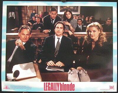 Legally Blonde (2001) US Lobby Cards REECE WITHERSPOON