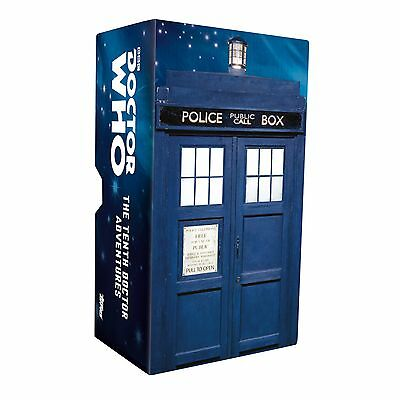 TOPPS Dr Who Tenth Doctor Adventures Set Of 88 w/Tardis Box,DAVID TENNANT #0702