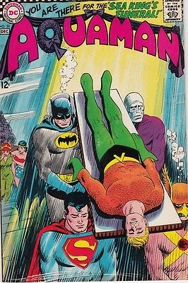 Aquaman 30 strict 1966 NM Super-High-Grade Batman, Superman, Aqualad, Mira  Wow