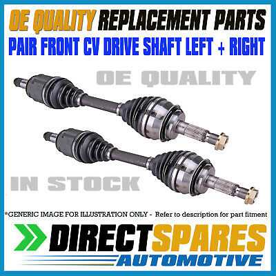 PAIR HYUNDAI GETZ TB 2002 - 2011 MANUAL L&R CV Joint Drive Shafts OEM QUALITY