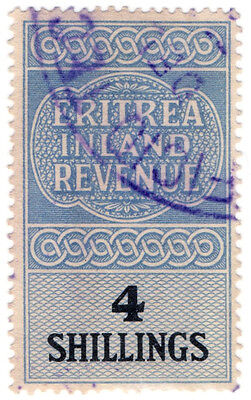 (I.B) BOIC (Eritrea) Revenue : Duty Stamp 4/-
