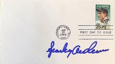 Sparky Anderson Cincinnati Reds Signed First Day Cover