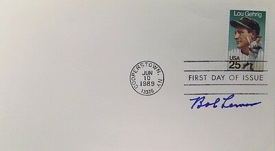Bob Lemon Cleveland Indians Signed First Day Cover
