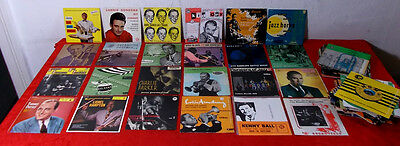 36 EP´s & 31 Single JAZZ & SWING - Vinylsammlung - von Parker bis Barber -