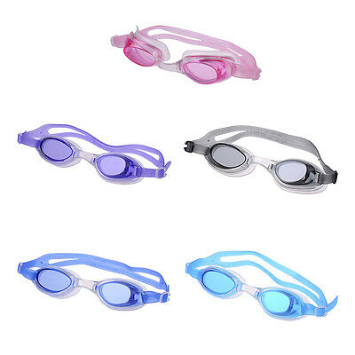 Kids Children Baby Boys Girls Swimming Goggles Anti-Fog Swim Glasses Adjustable