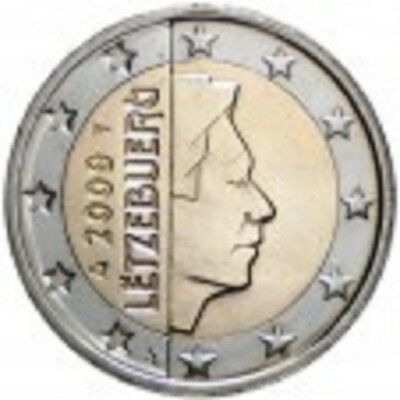 LUXEMBOURG 2 Euros Grand-Duc Henri 2009 UNC