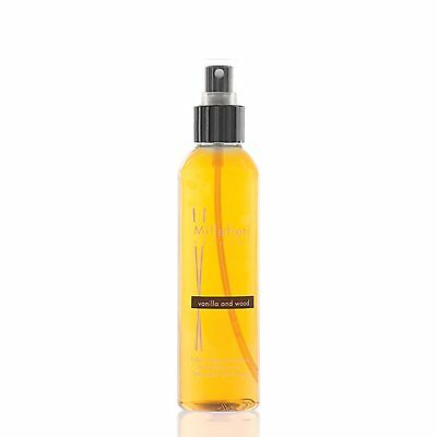 MILLEFIORI Natural New Home Spray Raumspray 150 ml VANILLA & WOOD