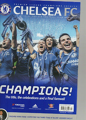 Chelsea Fc Official Magazine Champions July 2017