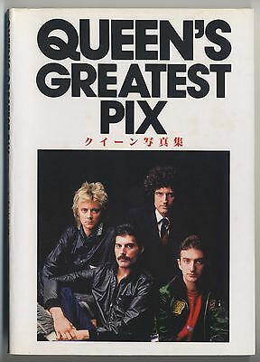 Queen JAPAN PHOTO BOOK Queen's Greatest Pix by Jacques Lowe 1981